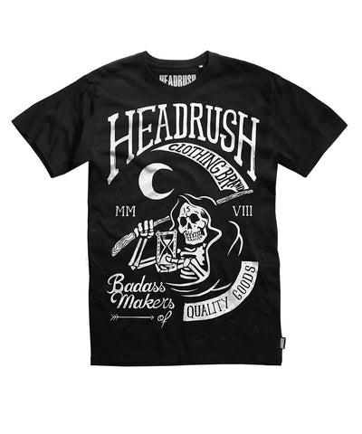 HEADRUSH NIGHT REAPER SHIRT BLACK - MMAoutfit - 1