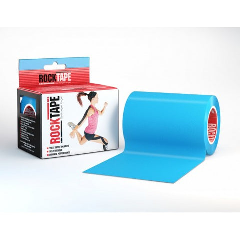 "RockTape Active-Recovery Series Tape (W10cm x L5m) 4"" Mini Big Daddy - Electric Blue"
