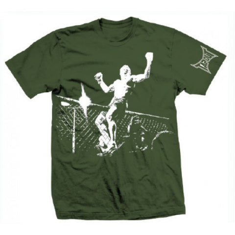 TAPOUT CHAMPION MENS T-SHIRT - GREEN - MMAoutfit