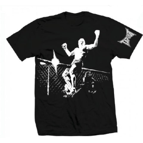 TAPOUT CHAMPION MENS T-SHIRT - BLACK - MMAoutfit