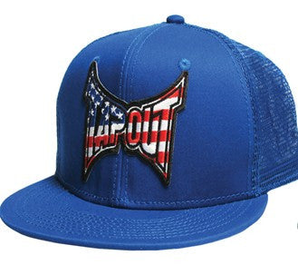 TAPOUT CLASSIC AMERICAN CAP - BLUE - MMAoutfit