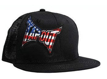 TAPOUT SIDE AMERICAN - BLACK - MMAoutfit