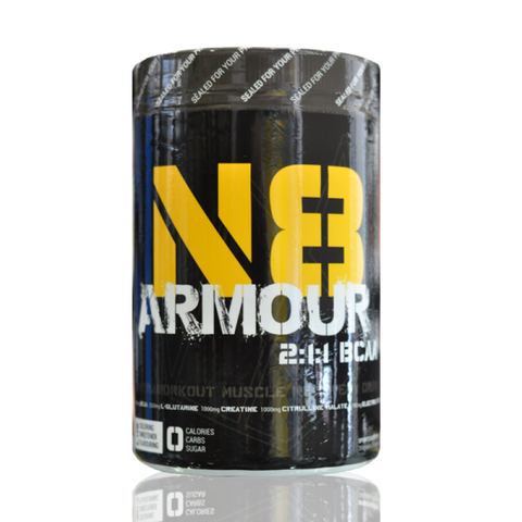 N8 ARMOUR BCAA 2:1:1 AMINO (30 SERVINGS) - GREEN APPLE