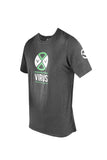 VIRUS MEN'S PREPARED PREMIUM CUSTOM TEE - BLK/GREEN - MMAoutfit - 1