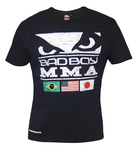 BAD BOY MMA T-SHIRT - DARK BLUE