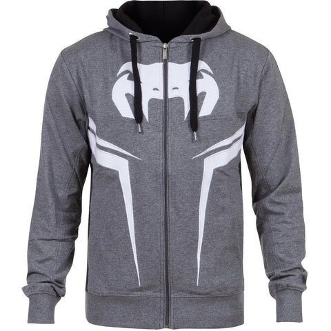VENUM SHOCKWAVE 3 HOODY LITE SERIES - GREY - MMAoutfit - 1
