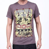 Intimidation Strong Style - Tee (Brown) - MMAoutfit - 1
