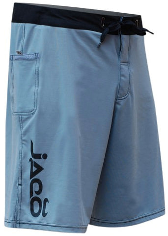 JACO HYBRID TRAINING SHORTS - SILVERLAKE/BLACK