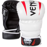 VENUM ELITE SPARRING MMA GLOVES - ICE/BLACK/RED - MMAoutfit - 1