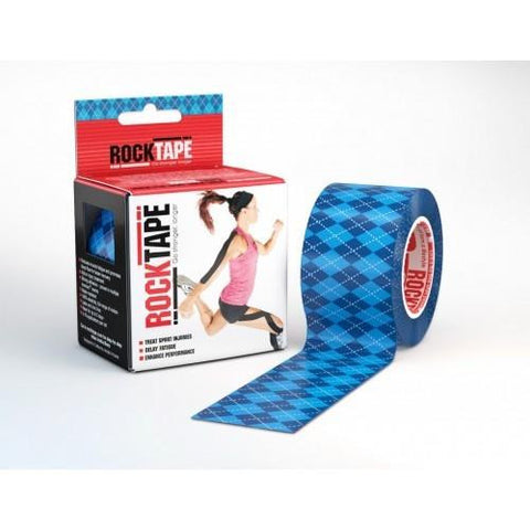RockTape Active-Recovery Series Tape 5M - Garmin Blue - MMAoutfit - 1