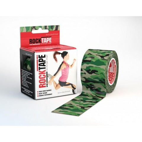 RockTape Active-Recovery Series Tape 5M - Green Camouflage - MMAoutfit - 1