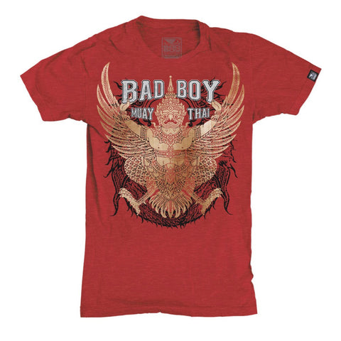 BAD BOY MUAY THAI LEGACY T-SHIRT - RED
