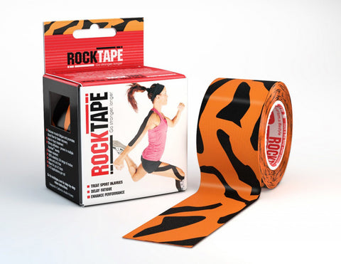 RockTape Active-Recovery Series Tape 5M - Tiger