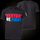TAPOUT EVERYDAY WE FIGHT T-SHIRT - BLACK - MMAoutfit - 2