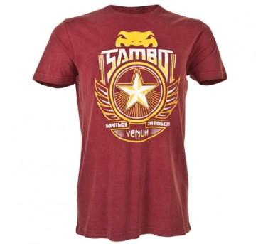 "VENUM ""SAMBO"" T-SHIRT - RED"
