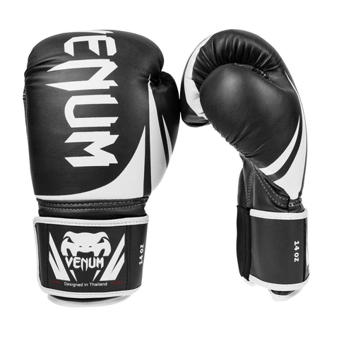 VENUM CHALLENGER 2.0 BOXING GLOVES - BLACK - MMAoutfit