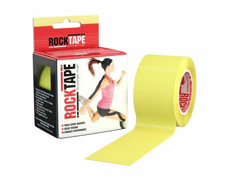 RockTape Active-Recovery Series Tape 5M - Yellow - MMAoutfit - 1