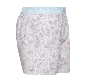 Faithful - lilac paisley Boxer Short - True Boxers