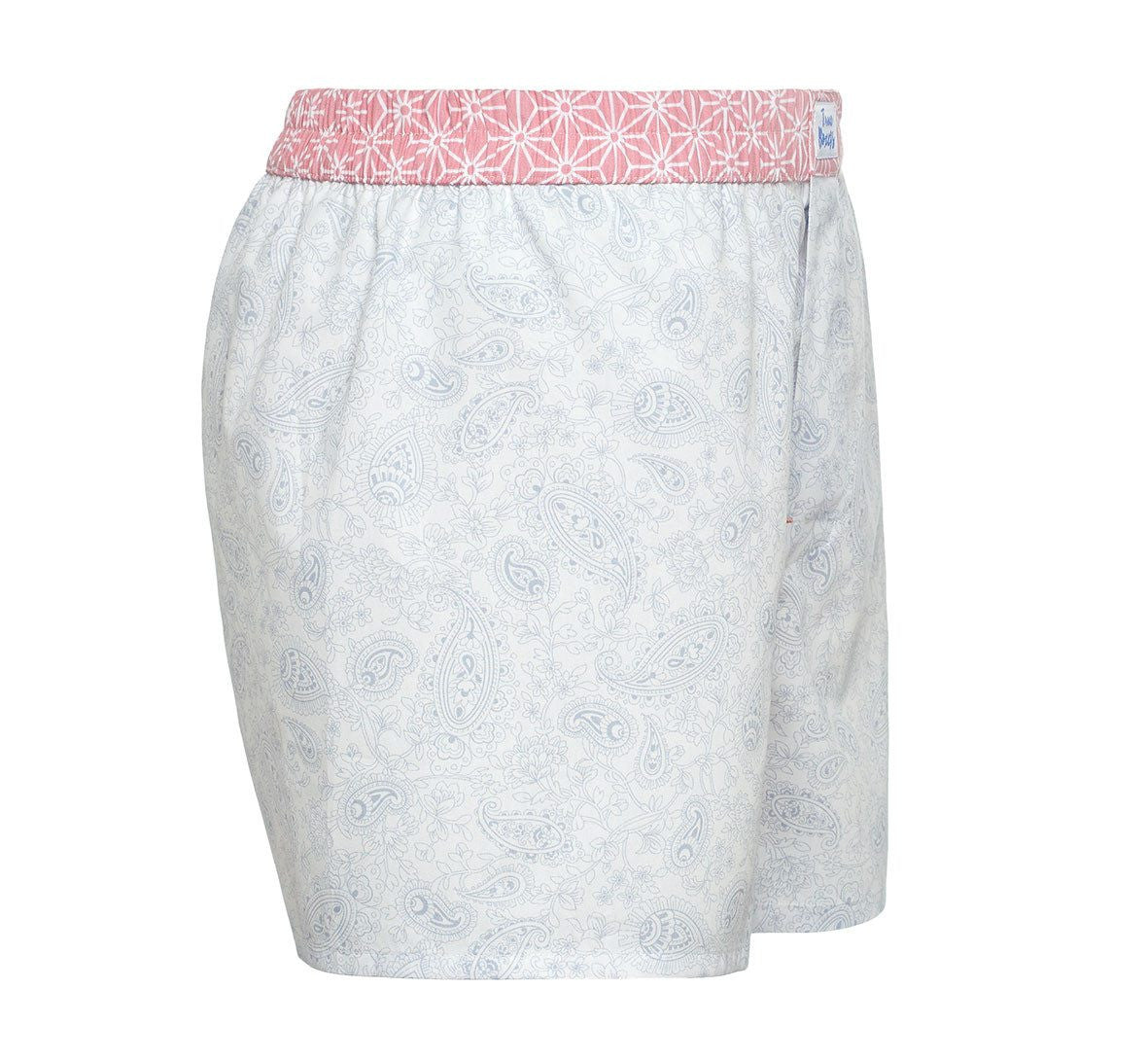 Like a King - blue paisley Boxer Short - True Boxers