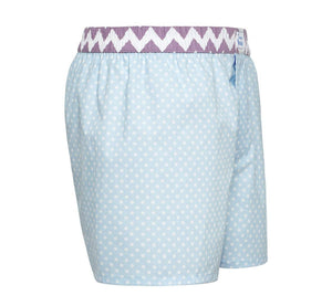 Genius - blue polka dots Boxer Short - True Boxers