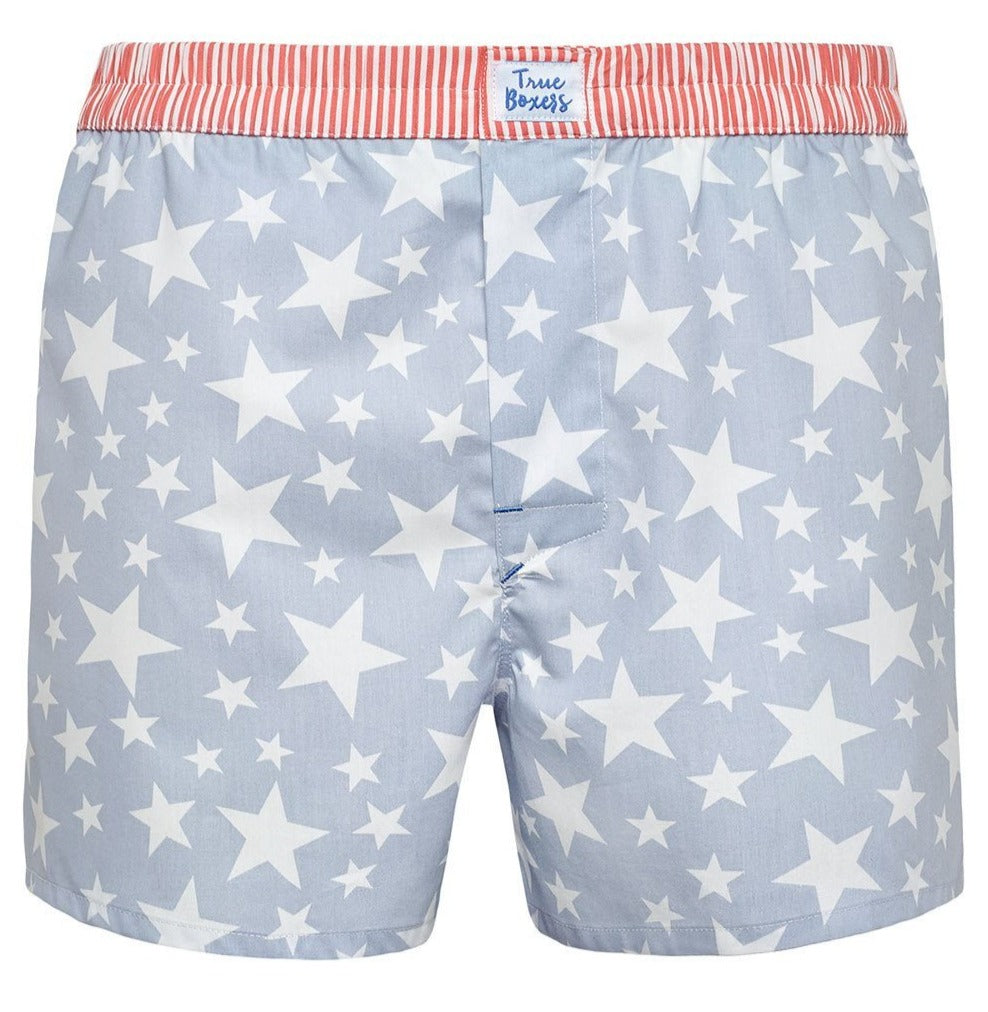 Smash & Serve - blue stars and red stripes Boxer Short - True Boxers