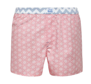 Shake it Loose - pink mosaic Boxer Short - True Boxers