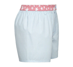 Champion - blue stripes with pink stars Boxer Short - True Boxers