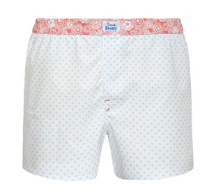 Scoop - blue polka dots Boxer Short - True Boxers