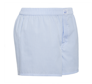 Homerun - blue white stripes Boxer Short - True Boxers
