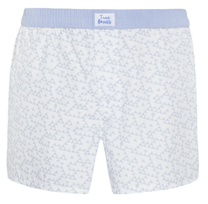 Space Cowboy - blue triangles Boxer Short - True Boxers
