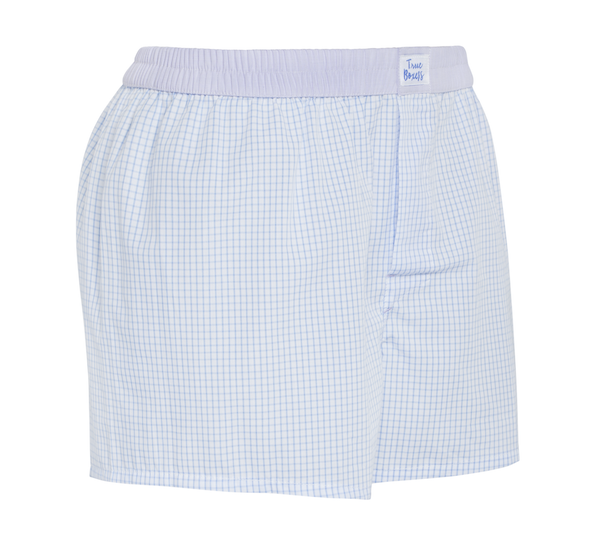 Daydreams - blue checkered Boxer Short - True Boxers