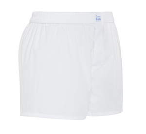 Roberto Blanco - plain white Boxer Short - True Boxers