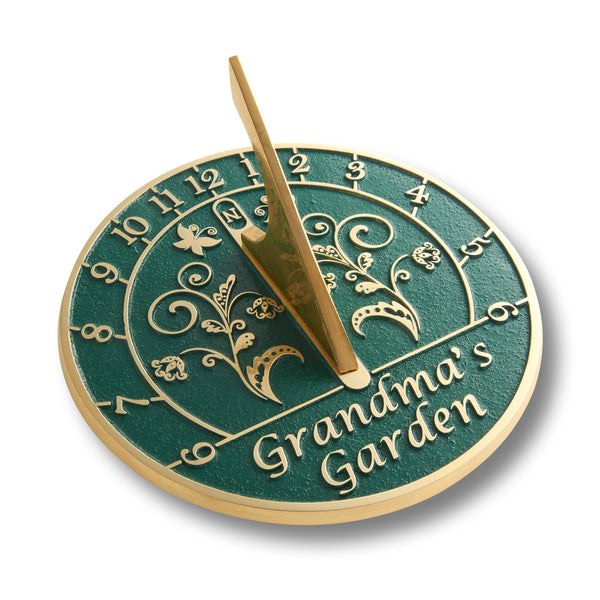 Custom Sundial Gift For Mum.  Handmade In England Just For Her With Your Own Message.