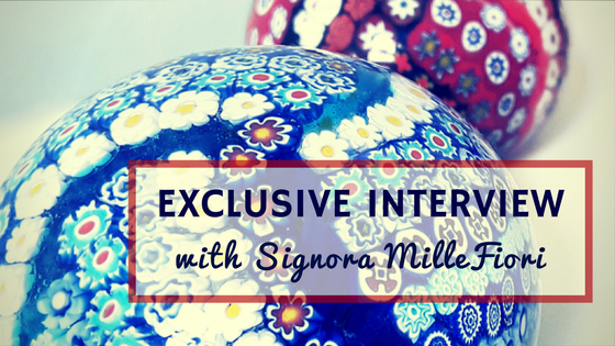 First Time Ever! Exclusive interview with Signora MilleFiori