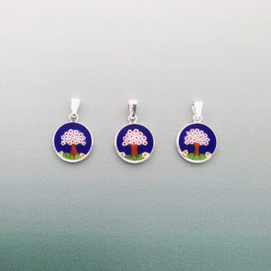 Classic Venice 14mm round glass pendants