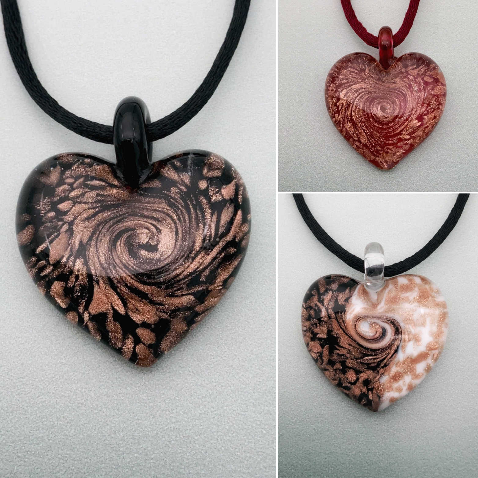 Classic Venice Heart of passion necklaces