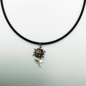 Sweatheart Flower necklaces in various colours