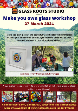 Make your own Glass Workshop - min 4 pppl