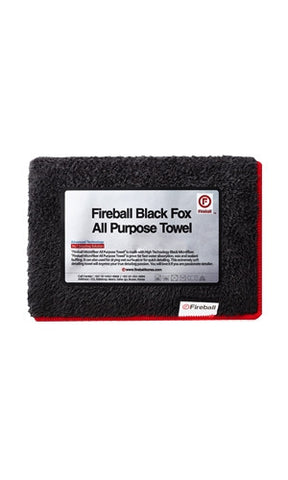 Fireball Black Fox All Purpose Towel