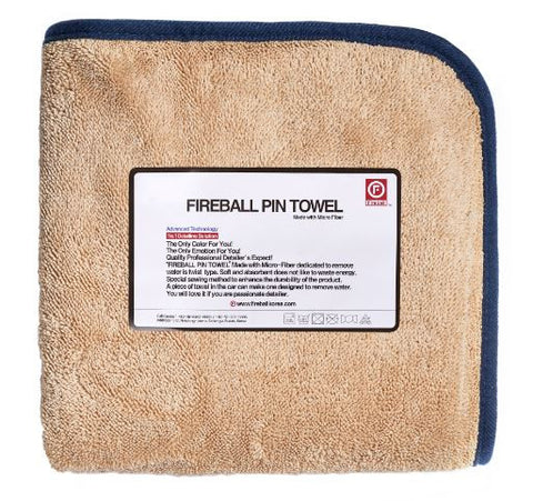 Fireball Pin Towel