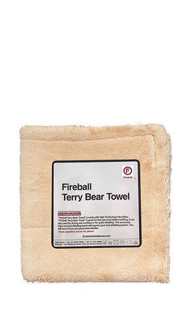 Fireball Terry Bear Towel