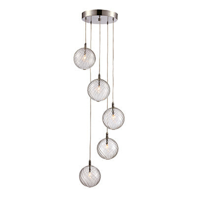 trans globe lighting inspiration collection 5 light pendant mdn