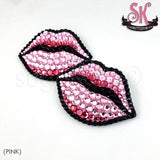 Hot Lips Rhinestone Pasties - SugarKitty Couture - 1