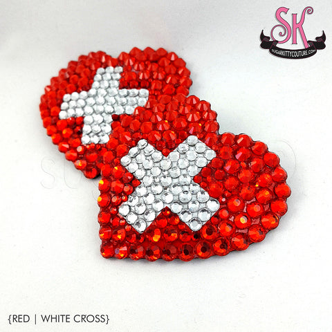 Cross Your Heart Rhinestone Pasties