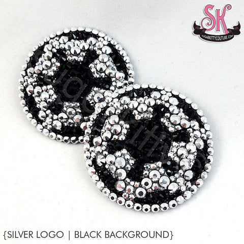 Galactic Empire Logo Star Wars Inspired Rhinestone Pasties