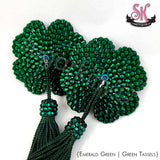 4-Leaf Clover Shamrock Rhinestone Pasties - SugarKitty Couture