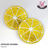 Citrus Slice Fruit Rhinestone Pasties - SugarKitty Couture
