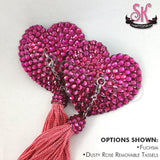 Heart-Shaped Rhinestone Pasties