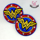 Wonder Woman Inspired Rhinestone Pasties