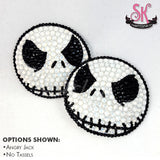 Nightmare Before Christmas Inspired Rhinestone Pasties